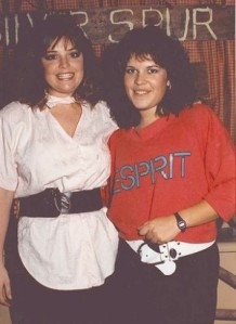 Sarah Palin, then Sarah Heath, left, with classmate Stacia Crocker at a dorm party at the University of Idaho. She wasn't out to get attention, one former classmate said. She kept to herself.