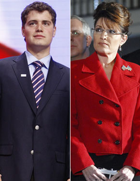 Levi Johnston and Sarah Palin